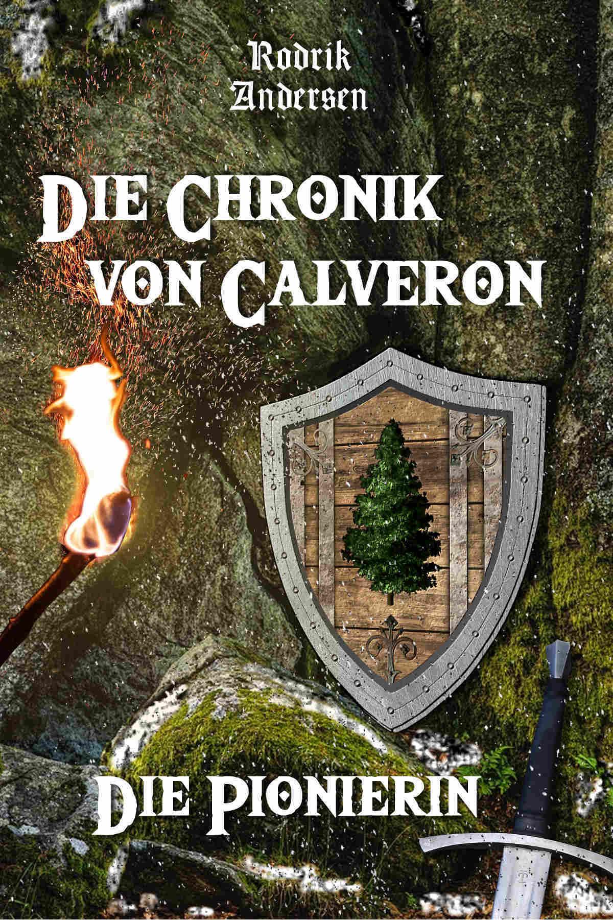 Vorschau auf den zweiten Band von Die Chronik von Calveron